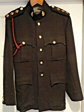 RAMC CAPTAIN'S TUNIC w/ LANYARD +PIPS for MAJOR, CORRECT INSIGINIA/BUTTONS, EXC+