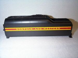 Lionel 746 Norfolk & Western Tender Shell Long Stripe Excellent Reproduction!