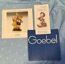 Goebel Hummel Guide For Collector 1982 & 1983 & One Other Undated Goebel Catalog