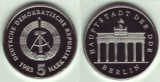 5 Mark 1983 A Brandenburger Tor  PP
