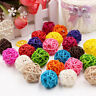 5PCS 3cm Rattan Ball Craft Wedding Birthday Party Home Decorations Ornament CA