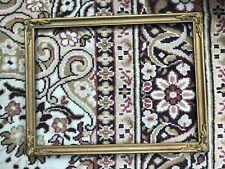 More details for vintage ornate gilt picture frame !