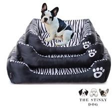 Dog Bed XS Large Waterproof Small Medium Calming Comfy Cushion Cat Pet Puppy UK