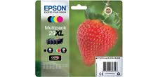 Epson 29XL Original Ink Cartridge C13T29964012 Black & 3 Colours 4 Pieces