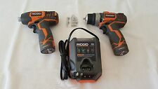 12-Volt Lithium-Ion 2 Speed drill and 12-Volt Lithium-Ion Impact Driver