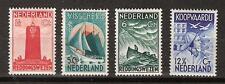 NVPH Netherlands Nederland 257 258 259 260 ong MLH 1933 zeemanszegels Pays Bas
