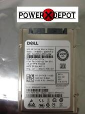 """NEW PULL DELL STEC 200GB SSD SLIM SATA MLC 2.5"""" NO TRAY  YV9C8  M16CSD1-200UCV-D"""
