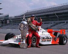 GIL DEFERRAN 2003 INDY 500 WINNER AUTO RACING 8X10 PHOTO