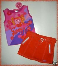 Baby Girl Summer Outfit 18 Months Top Skirt Oink Baby Boutique