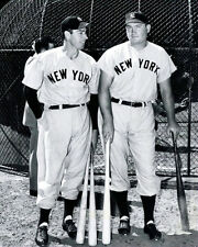 Joe Dimaggio  Johnny Mize Photo 8X10 - Yankees 1949