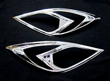 MAZDA BT-50 BT 50 PRO 2012 2013 FRONT HEAD LIGHT LAMP PICK UP CHROME COVER TRIM