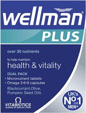 Vitabiotics Wellman Plus Omega 3∙6∙9 - 56 Tablets/Capsules  | Big Discount!