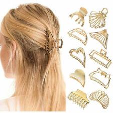 Women Fashion Metal Crab Barrette Hair Claw Clips Hairgrips Hair Accessories NEW