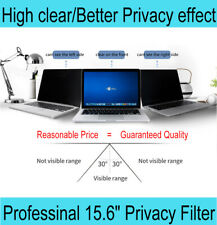 """15.6"""" Laptop Privacy Screen Filter Anti-Spy Computer Screen Protector High Clear"""