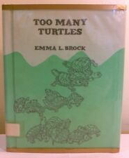 Brock, Emma L. - Too Many Turtles - 1951 - 1st/HC/VG- - illustrated!