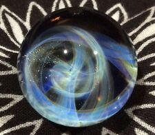 26 MM Cosmic Chaos Vortex Hand Made Contemporary Borosilicate Art Glass Marble