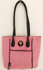 BARBIE Womens Purse Shoulder Bag Pink Corduroy Retro Snap Close Collectible