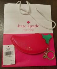 Kate Spade New York Hot Pepper Red Coin Purse Accessory Key Chain NWT