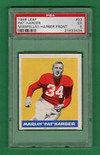 1948 LEAF FOOTBALL PAT HARDER (MISSPELLED HARBER) #33 PSA 5 EX CARDINALS