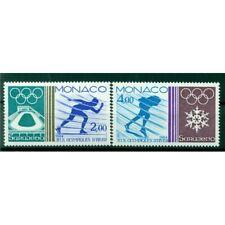 Monaco 1984 - Y & T n. 1416/17 - Jeux olympiques d'hiver