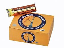 2 x 10 Rollen Shisha Kohle  - Golden River - 200 Tabs 40mm, Selbstzünder ANGEBOT