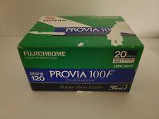 Box 20 Rolls Fuji Fujichrome RDP-III Provia 100F 120 Color Reversal Slide Film