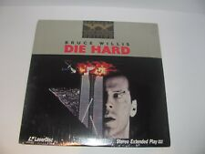Die Hard Special Widescreen Edition On Laserdisc New Sealed