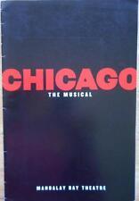 Chita Rivera (Only) Signed Playbill Chicago Mandalay Bay  Ute Lemper  Ben Vereen