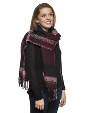 Acrylic Square Plaids & Checks Scarves & Shawls for Women