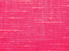 4 Yds-IR-Super BRIGHT CORAL PINKY RED Rayon CRASH CLOTH Fabric