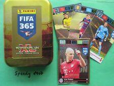 Panini Adrenalyn FIFA 365 Limited Edition Pocket Tin Robben  20 Base Cards