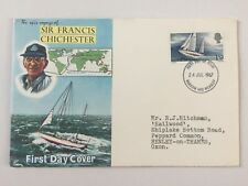 GB 1967 SIR FRANCIS CHICHESTER First Day Cover