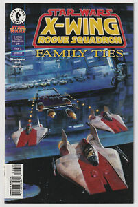 STAR WARS: X-WING ROGUE SQUADRON #26 | 1st Corran Horn |Family Ties | 1998 | NM-