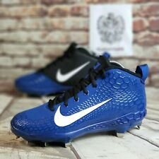 Nike Force Zoom Trout 5 Pro Baseball Cleats Men's Size 10 Blue AH3372-401 NEW
