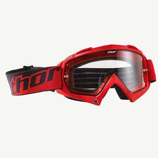 Thor MOTORCROSS MX Enemy Goggles Red Frame  2601-0710