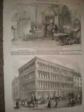 Play The First Printer Princess Theatre & Glasgow Iron and Glass warehouse 1856