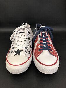 Converse Stars & Stripes MISMATCHED Left 148835F Right 1471207F  M10 W 12  MM#1