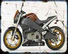Buell Xb12Scg Lightning 07 1 A4 Metal Sign Motorbike Vintage Aged
