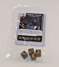 Marvel Dice Masters Guardians of the Galaxy * MADAME MASQUE RARE Set CUR 4 dice