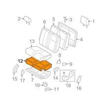 Toyota Genuine 71612-0C040 Seat Cushion Pad