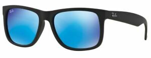 Ray-Ban Damen Herren Sonnenbrille RB4165 622/55 51mm Justin verspiegelt