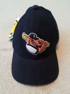 Gateway Grizzlies Baseball Hat Baby Toddler Size BLACK Bear Logo MILB Minor Leag