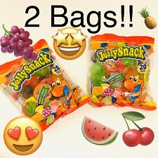 Tik Tok Candy Jelly Fruit Snacks.  Gely Ju-C Two Packages Of 20