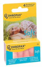 OHROPAX Soft Foam Ear Plugs (4 Ear Plugs)