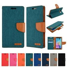 Goospery Canvas Diary Wallet for Samsung Galaxy - FAST SHIPPING