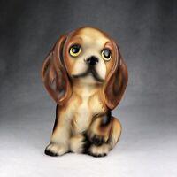 "Vintage Cocker Spaniel Dog Figurine Old Japan 5"" Cavalier King Charles"