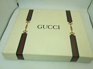 Vintage Gucci Photo Album Memory Book Desk Library NOS