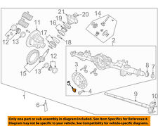 CHRYSLER OEM FRONT SUSPENSION-Differential Cover Plug 52070428AA
