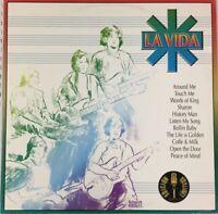 LA VIDA –1972 SELF TITLED- RARE MEXICAN LP REISSUE PSYCH