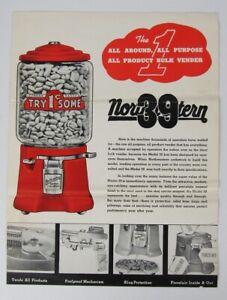 Northwestern Peanut Vending Model 39 Advertising Flyer